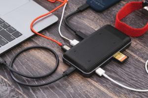 USBを増設!